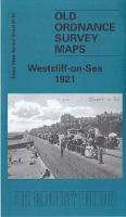 Westcliff-on-Sea 1921: Essex (New Series) Sheet 91.01 - Old Ordnance Survey Maps of Essex (Sheet map, folded)