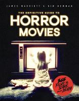 Horror: Films to Scare you to Death