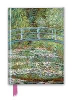 Claude Monet: Bridge over a Pond of Water Lilies (Foiled Journal)