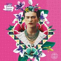 Adult Jigsaw Frida Kahlo Pink