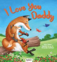 I Love You Daddy - Picture Book Flat Portrait (Paperback)