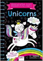 Unicorns: Scratch Art - Scratch Art Fun (Hardback)