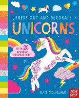 Press Out and Decorate Unicorn