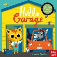 Hello Garage - Hello... (Board book)
