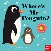Where's Mr Penguin? - Felt Flaps (Board book)