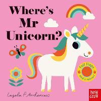 Where's Mr Unicorn? - Felt Flaps (Board book)