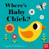 Where's Baby Chick? - Felt Flaps (Board book)