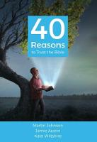 40 Reasons to Trust the Bible (Paperback)