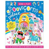 Make and Play: Groovicorns Palace (Spiral bound)