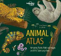 Animal Atlas - Lonely Planet Kids (Hardback)