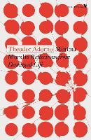 Minima Moralia: Reflections from Damaged Life - Radical Thinkers (Paperback)