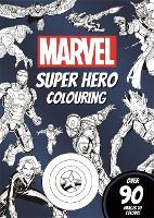 Marvel Super Hero Colouring