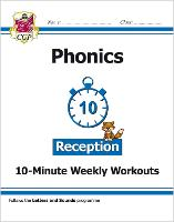New English 10-Minute Weekly Workouts: Phonics - Reception