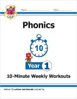 New KS1 English 10-Minute Weekly Workouts: Phonics - Year 1