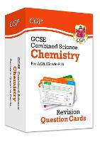 9-1 GCSE Combined Science: Chemistry AQA Revision Question Cards