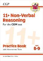11+ CEM Non-Verbal Reasoning Practice Book & Assessment Tests - Ages 8-9 (with Online Edition)