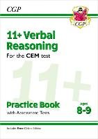 11+ CEM Verbal Reasoning Practice Book & Assessment Tests - Ages 8-9 (with Online Edition)