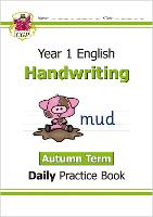 New KS1 Handwriting Daily Practice Book: Year 1 - Autumn Term