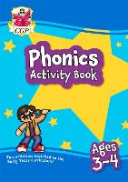 New Phonics Home Learning Activity Book for Ages 3-4