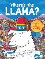 Where's the Llama?: A Whole Llotta Llamas to Search and Find - Search and Find Activity (Paperback)