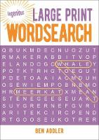 Large Print Wordsearch - Ingenious Puzzles & Dot-To-Dots 1 (Paperback)