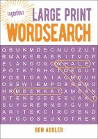 Large Print Wordsearch - Ingenious Puzzles (Paperback)