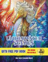 Colouring Books (Underwater Scenes)