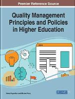Quality Management Principles and Policies in Higher Education (Hardback)