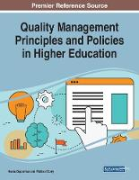 Quality Management Principles and Policies in Higher Education (Paperback)