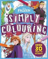 Disney Frozen: Simply Colouring (Paperback)