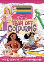 Disney Princess: Tear Off Colouring (Paperback)