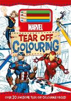 Marvel: Tear Off Colouring (Paperback)