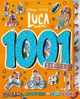 Disney Pixar Luca: 1001 Stickers (Paperback)