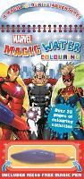 Marvel Avengers: Magic Water Colouring (Hardback)