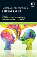 Handbook of Research on Employee Voice - Research Handbooks in Business and Management series (Paperback)