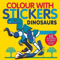 Dinosaurs - Colour with Stickers