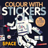 Space - Colour with Stickers