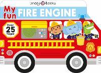 My Fun Fire Truck - My Fun Flap Books (Board book)