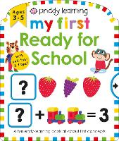 My First Ready For School - Priddy Learning (Board book)