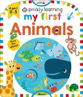 Priddy Learning; My First Animals - Priddy Learning (Board book)