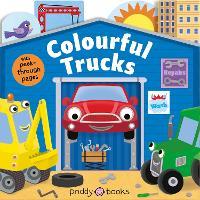 Colourful Trucks - Tiny Tots Peep Through 2 (Board book)