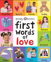 First Words of Love - First 100 Soft To Touch (Board book)