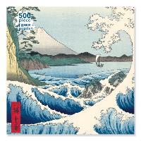 Adult Jigsaw Puzzle Utagawa Hiroshige: The Sea at Satta (500 pieces)