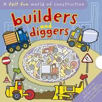 Felt Fun Diggers and Builders (Hardback)