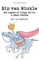 Rip Van Winkle, The Legend of Sleepy Hollow & Other Stories - Wordsworth Children's Classics (Paperback)