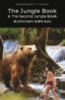 The Jungle Book & The Second Jungle Book - Wordsworth Classics (Paperback)