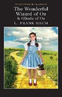 The Wonderful Wizard of Oz & Glinda of Oz - Wordsworth Classics (Paperback)