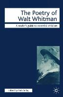 The Poetry of Walt Whitman - Readers' Guides to Essential Criticism (Paperback)