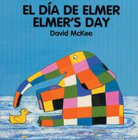 Elmer's Day (spanish-english) (Board book)