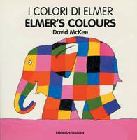 Elmer's Colours (somali-english) (Board book)